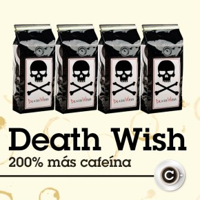Death Wish, cafeína atope.