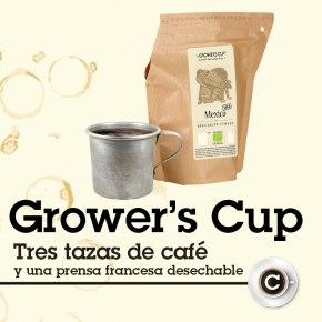 Café gourmet + cafetera, sólo añadaagua.